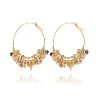 GAS-BIJOUX-OORBELLEN-GRAPPIA-HOOP-EARRINGS-GOUD-MINI-371621 www.buddha-ibiza.nl