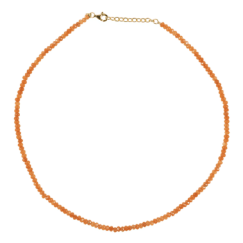 ELINE-ROSINA-KETTING-ORANGE-GEMSTONE-GOUD www.buddha-ibiza.nl