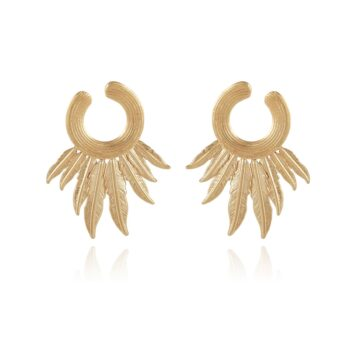 GAS-BIJOUX-OORBELLEN-CARACARA-EARRINGS-GOUD-01 www.buddha-ibiza.nl