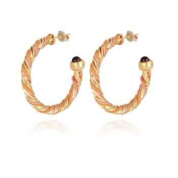 GAS-BIJOUX-OORBELLEN-TORRIDE-HOOP-EARRINGS-GOUD-430477-12 www.buddha-ibiza.nl
