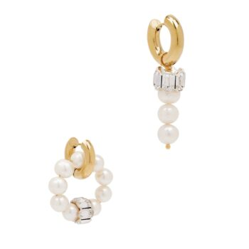 TIMELESS-PEARLY-OORBELLEN-PEARL-AND-CRYSTAL-EMBELLISHED-HOOP-EARRINGS-GOUD-01 www.buddha-ibiza.nl