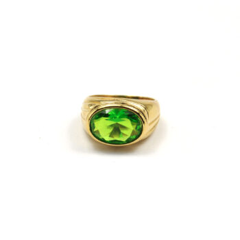 TIMELESS-PEARLY-RING-ITALIAN-GREEN-CRYSTAL-GOUD-01 www.buddha-ibiza.nl
