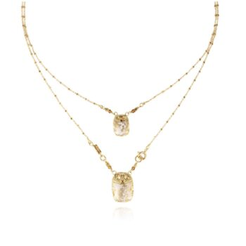 GAS-BIJOUX-KETTING-SCAPULAIRE-SCARAMOUCHE-EMAIL-GOUD-1234 www.buddha-ibiza.nl
