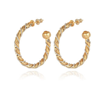 GAS-BIJOUX-OORBELLEN-TORRIDE-HOOP-EARRINGS-GOUD-001 www.buddha-ibiza.nl